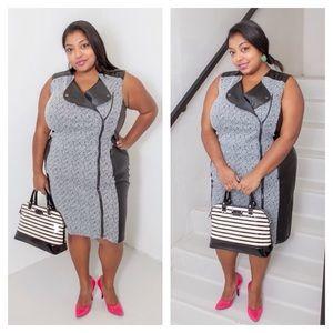 Penningtons Dresses - Leatherette Dress